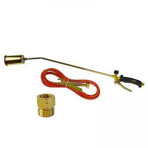 Brûleur gaz Propane Torch 2m de tuyau Plombier Couvreur Régulateur TE457 Kit de lutte contre les mauvaises herbes de la marque A B Tools image 0 produit