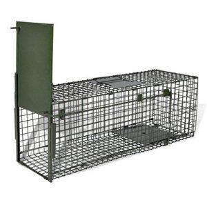 Cage piège pour animauxn une entrée anti rongeur de la marque vidaXL image 0 produit