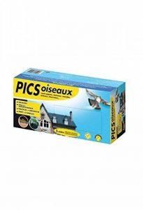 Caussade Irepoipic Pic-Pigeons Discret et Facile à Poser, Bleu, 25 x 8 x 12 cm de la marque Caussade image 0 produit