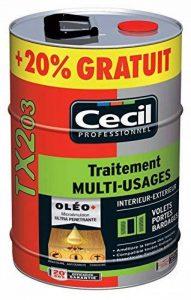 Cecil - Traitement bois exterieur tx 203 - Cond. l.5 - de la marque Cecil image 0 produit