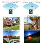 Chat Ultrason et le flash solaire contre les chats, les chiens, les fouines, de défense contre les animaux | Répulsif pour chiens Electronique, les martres (avec capteur infrarouge) de la marque Topular image 4 produit