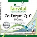 Coenzyme Q10 30mg 60 comprimés à base végétale - contre la fatigue de la marque fairvital image 1 produit