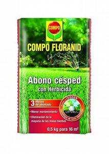 Compo 1335012011–Engrais gazon Floranid avec désherbant de 500gr de la marque Compo image 0 produit
