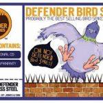 Defender Bird and Pigeon Spikes Kit griffes anti-pigeons et anti-oiseaux Large Acier inoxydable 5m de la marque Defender Bird and Pigeon Spikes image 1 produit