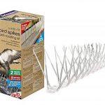 Defenders STV900 Set de 6 Pics Anti-Oiseaux, Transparent, 2 m de la marque Defenders image 2 produit