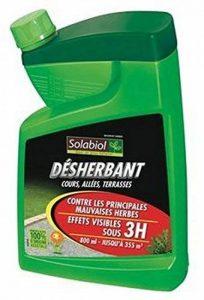 DESHERBANT ACTIF NATUREL SANS GLYPHOSATE 800 ML de la marque Solabiol image 0 produit