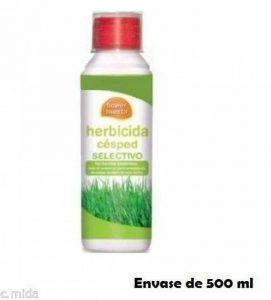 Desherbant systémique sélectif gazon 500cc contre mauvaises herbes à feuilles larges. de la marque FLOWER HUERTA image 0 produit