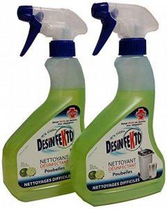 Desinfekto Nettoyant Désinfectant Poubelles aux Actifs de Citron Vert 500 ml - Lot de 2 de la marque Desinfekto image 0 produit