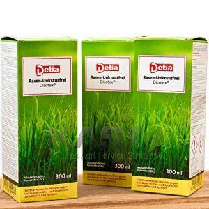 Detia Sans Mauvaises herbes gazon Dicotex 300ml - Contre les tenaces mauvaises herbes dans l'herbe de la marque Detia image 0 produit