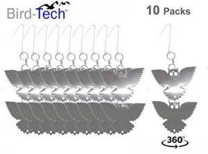 DISPOSITIFS ANTI-OISEAUX HIBOU RÉFLÉCHISSANT EN ACIER INOXYDABLE 10 JEUX DE 2 HIBOUX CHACUN de la marque Bird-Tech image 0 produit