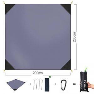 EKKONG Tapis de Sol/Bâche de Tente Étanche Pour Camping Randonnée ou Pique-nique de la marque EKKONG image 0 produit