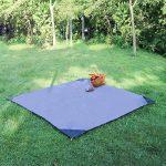 EKKONG Tapis de Sol/Bâche de Tente Étanche Pour Camping Randonnée ou Pique-nique de la marque EKKONG image 2 produit