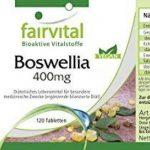 Encens Boswellia 400mg - 120 comprimés végans - Boswellia serrata avec plus de 65% d'acides boswelliques de la marque fairvital image 3 produit