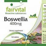 Encens Boswellia 400mg - 120 comprimés végans - Boswellia serrata avec plus de 65% d'acides boswelliques de la marque fairvital image 4 produit