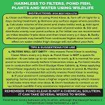 Envii Pond Klear - Algicide Pour Bassin Utilisant Des Bactéries Pour Éliminer L'eau Verte et Les Algues, Sans Risque Pour Les Poissons, Ni Les Animaux Domestiques - 1 Litre de la marque Envii image 4 produit