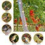 Excellent Houseware Bird Répulsif Scare Bande, 45,7m X 4.8cm double face Flash réfléchissant Bird ruban de Flashy de jardin anti Oiseau ruban adhésif de la marque Great Houseware image 2 produit