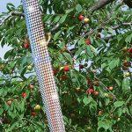 Excellent Houseware Bird Répulsif Scare Bande, 45,7m X 4.8cm double face Flash réfléchissant Bird ruban de Flashy de jardin anti Oiseau ruban adhésif de la marque Great Houseware image 4 produit