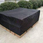 FEMOR Étanche Bâche De Protection BBQ, Anti-Poussière Anti-Gel Pour Barbecue, Grill À Gaz Protector Noir (250*200*80cm) (250*200*80cm) de la marque Femor image 2 produit