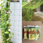 Filet de jardin, support pour plantes grimpantes Net 10*10cm en maille filet pour plante, animal, végétal protection 3.6x1.8m 3.6x1.8m de la marque GoodFaith image 1 produit