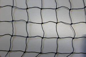 Filet de volière - Adapté aux poules - Noir - Mailles 5cm-Largeur 10m - Longueur au choix - Épaisseur1,2mm de la marque Pieloba image 0 produit