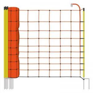 Filet mouton 50m H : 108cm orange VOSS.farming 14 piquets double pointe clôture électrique de la marque Voss.farming image 0 produit