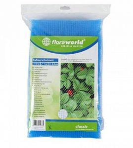 Floraworld 011425Fraise Filet de protection Classic, bleu, 1000x 100x 37cm de la marque Floraworld image 0 produit