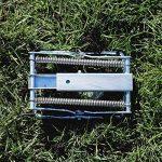 FreeTec campagnols Souris de Piège à campagnols Pince cas Taupe et de Gopher de cas, facile à configurer, en une seconde activé, les ravageurs rapidement et efficacement voie, en acier galvanisé (Lot de 2) de la marque FREETEC image 1 produit