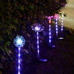 Gaddrt Multi-couleur LED fleurs artificielles solaires bûchers lumières de jardin solaire, 3pcs de la marque Gaddrt image 3 produit