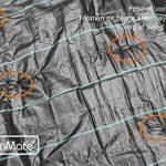 GardenMate® 100 piquets de fixation en acier GALVANISE 150 mm, 25 mm large, Ø 2,9mm de la marque GardenMate® image 3 produit