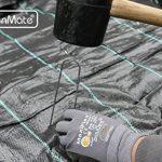 GardenMate® 100 piquets de fixation en acier GALVANISE 200 mm, 25 mm large, Ø 3,8mm - pour les sols très durs de la marque GardenMate® image 2 produit