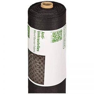 GardenMate® 1m x 50m Rouleau bâche anti-mauvaises herbes 100gms de la marque GardenMate® image 0 produit