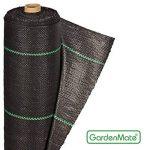GardenMate® 1m x 50m Rouleau bâche anti-mauvaises herbes 100gms de la marque GardenMate® image 1 produit
