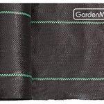 GardenMate® 1m x 50m Rouleau bâche anti-mauvaises herbes 100gms de la marque GardenMate® image 3 produit