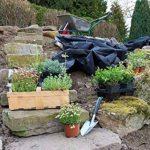 GardenMate® 1m x 50m Rouleau bâche anti-mauvaises herbes en tissu non tissé 150gms de la marque GardenMate® image 4 produit