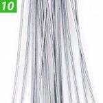GardenPrime GALVANISÉ Piquets de fixation pour jardin Premium en forme de U 10 x 2,8 mm pour la fixation des tissus anti mauvaises herbes, molleton, imperméables, tissus de paysage (10 pièces) de la marque GardenPrime image 1 produit