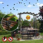 Gardigo 2 Ballons Épouvantails Effaroucheurs Anti-Pigeons, Oiseaux, Hérons, Pies, Vanneaux et Moineaux de la marque Gardigo image 2 produit