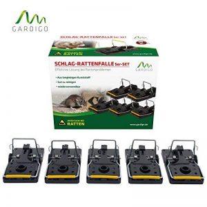 Gardigo Lot de 5 Pièges à rats, Tapettes à souris | Écologique et Réutilisable (5 pièces) de la marque Gardigo image 0 produit
