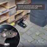 Gardigo Profi Piège à rats, Tapette à souris, inclusif appât de longue duré | Écologique et Réutilisable de la marque Gardigo image 4 produit