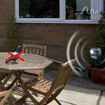 Gardigo Répulsif anti-oiseaux solaire Épouvantail électronique à ultrasons avec flash et piquet de la marque Gardigo image 4 produit