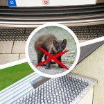 Gardigo Répulsif chats chiens naturel et écologique | Pic anti pigeons, oiseaux | Piques pour murs, clôtures, barrières, potagers, canapé | Set de 12 Grilles - 50 x 15 x 3 cm de la marque Gardigo image 3 produit