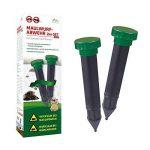 Gardigo Stop la Taupe à vibrations - Set de 2 pièces | Répulsif anti-taupes, campagnols, nuisibles - étanche de la marque Gardigo image 3 produit