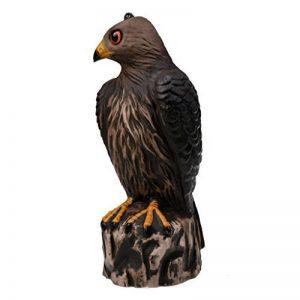 Gazechimp Réaliste Hibou Leurre de Chasse Décoration Protège Jardin Contre Ravageurs Oiseau Pigeon de la marque Gazechimp image 0 produit