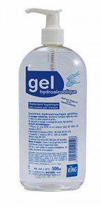 Gel hydroalcoolique - Désinfectant mains 500ml antibactérien - Solution hydroalcoolique de la marque Laco image 0 produit