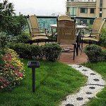 GRH 2 pc 38 cm Respectueux de l'environnement Solaire Souris Répulseur Accueil Hôtel Jardin Cour À Ultrasons Sonique Mole Vole Serpent Rongeur Ravageur Répulsif de la marque GRH image 2 produit