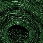Grillage a poule casa pura® | cloture poulailler jardin voliere | vert finition PVC | triple torsion, maille fine hexagonal 13x13mm - 1m x 25m (HxL) de la marque casa pura image 1 produit