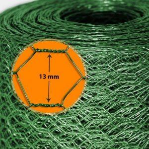 Grillage pour jardin casa pura® clôture vert | tailles au choix | diamètre de maille 13mm | résistant aux intempéries | bricolage, 100cmx10m de la marque casa pura image 0 produit