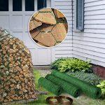 Grillage pour jardin casa pura® clôture vert | tailles au choix | diamètre de maille 13mm | résistant aux intempéries | bricolage, 100cmx10m de la marque casa pura image 4 produit
