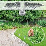 Haichen 50pcs galvanisé Jardin Piquets Agrafes 15,2cm/150mm Gazon artificiel Gazon U épingles pour pelouse Jardin Paysage mauvaises herbes de la marque Haichen image 4 produit