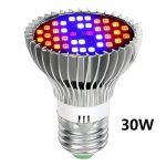 hangang LED Grow Light Bulb Full Spectrum LED Grow Light Bulb Plante qui grandit Lampe pour plante d'intérieur Plante aquatique et Marijuana Hydroponics Serre (30W) de la marque Hangang image 3 produit
