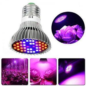 hangang LED Grow Light Bulb Full Spectrum LED Grow Light Bulb Plante qui grandit Lampe pour plante d'intérieur Plante aquatique et Marijuana Hydroponics Serre (30W) de la marque Hangang image 0 produit